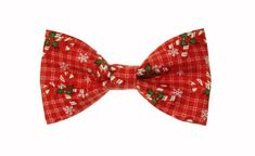 Clip On Bow Ties, Boys Bow Ties, Bow Tie Collar, Tie And Pocket Square, Candy Cane, Red Green, Christmas Holidays, Bows, Awesome