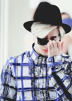 Suho ♥ Glass On ♡ #EXO