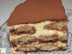 Tiramisu prajitura Romanian Desserts, Sweet Cooking, Homemade Sweets, Sweet Cakes, Diy Food, Cake Recipes, Deserts, Food And Drink, Cooking Recipes