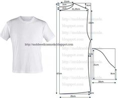 Perfecting Sew A T-shirt for Men Ideas. Immaculate Sew A T-shirt for Men Ideas. Mens Sewing Patterns, T Shirt Sewing Pattern, Sewing Men, Sewing Clothes, Clothing Patterns, Dress Patterns, Patron T Shirt, Make Your Own Clothes, Fashion Sewing