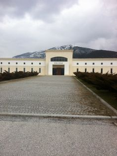 Pavlidis winery, Drama, Northern Greece Wineries, Planet Earth, Planets, Vineyard, Greece, Drama, Meet, Mansions, Country