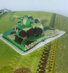 Military cake, gâteau militaire, gâteau tank by mwanamshe nde upiho