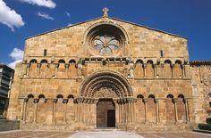 Comentario de la Fachada de Santo Domingo de Silos en Soria. Historia del Arte. ~ Aula de Historia