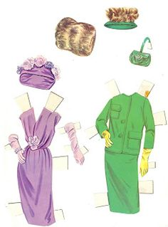 Connie Stevens Paper Doll, #4614 Whitman 1961 (7 of 11)