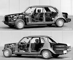 Mercedes - Benz W 123 Cutaway