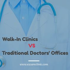 The popularity and prevalence of walk-in medical facilities has increased immensely in recent years, as people are searching for more affordable and efficient ways to get the treatment and care that they require. As these clinics become more commonly used, it is crucial for patients to understand the differences that exist between going to a walk-in, and that of going to a physician's office.   #doctornearme #medication #minorillness #prescription #treatment #walkinclinic