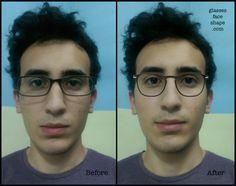 Eyewear Update: Oblong face shape | Glasses for Face Shape