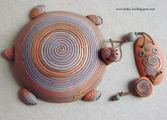 Ocarina Music, Pendant Design, Air Dry Clay, Clay Projects, Polymer Clay Jewelry, Belly Button Rings, Coin Purse, Pottery, My Style