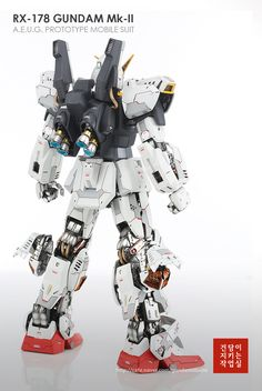 GUNDAM GUY: PG 1/60 Gundam Mk-II AEUG - Customized Build