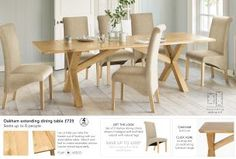 Buy Oakham Seater Extending Dining Table from the Next UK online shop Extendable Dining Table, Dining Bench, Kitchen Dining, Dining Room Furniture, Home Furniture, Luxury Living, Uk Online, House, Haus