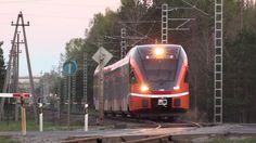 Штадлерские электропоезда близ ст. Пяэскюла / Stadler EMU's near Pääskül...