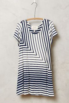 Angled Stripe Swing Top - anthropologie.com #anthrofave