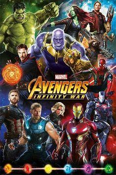 Avengers Infinity War Poster Fan made