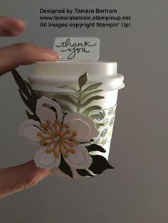 Tamara's Paper Trail: Botanicals Mini Cup