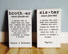 Brother and sister definition