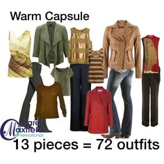 """""""warm capsule of clothing"""" by claremaxfield on Polyvore"""