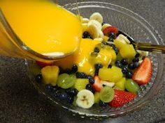 fruit salad with tang/vanilla pudding dressing