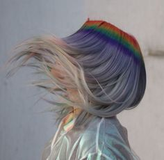 Prism Roots: the Dreamiest Hair Color Combination You've Ever Seen Rainbow Hair, Costume, Hair Trends, Color Combinations, Roots, Hair Color, Dreadlocks, Hair Styles, Cute