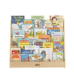 Amazon.com: ECR4Kids Birch Plywood Single-Sided Book Display, 15-Inch, Natural: Industrial & Scientific