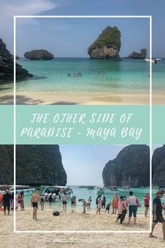 The Other Side Of Paradise - You can't deny that Koh Phi Phi is one of the most beautiful places on earth but recently Maya Bay has made the news for all the wrong reasons. New Travel, Travel With Kids, Family Travel, Travel Tips, Bangkok Travel, Thailand Travel, Maya, Vacation Planner, Family Days Out