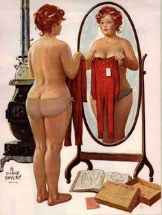 Hilda, America's forgotten curvy pin-up girl