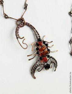 Кулоны, подвески ручной работы. Ярмарка Мастеров - ручная работа Подвеска Скорпион. Handmade.