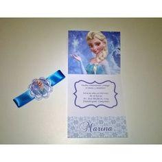 Convites Tema Frozen
