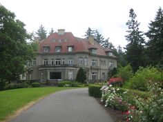 Pittock Mansion, Portland, Oregon  Went on a school field trip here, amazing place
