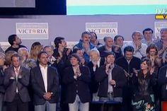 FPV celebra la victoria de los comicios legislativos #ArgentinaDecide (Foto: teleSUR)