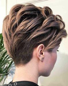 Dark-Blonde-Pixie Trendy Hair Colors for Short Hair for Ladies - pixie Short Hair Styles Easy, Short Hair Cuts For Women, Curly Hair Styles, Short Hair Tutorials, How To Style Short Hair, Short Choppy Hair, Style Hair, Short Hairstyles For Women, Easy Hairstyles