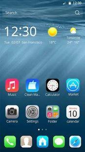 CM Theme for Concept  iPhone 7 – miniaturka zrzutu ekranu