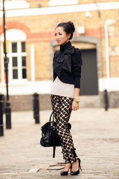 Bows :: Cropped jacket
