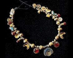 Phoenician Necklaces, Tunisia Punic Dynasty Carthage Museum