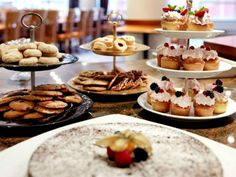Get your sugar fix from our cake buffet all freshly baked at Hotel Riverton