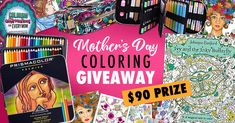 Mother's Day Coloring Giveaway