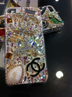 Chanel Swarovski Crystal iPhone 5 Case