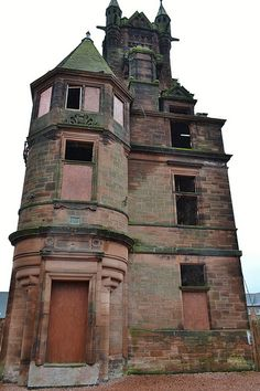 Gartloch Insane Asylum opened in 1889 and closed in 1996 it was located near the village of Gartcosh.  It has been redeveloped into a luxury village.  Location a few miles east of Glasgow, Scotland and a mile N.W. of Coatbridge.  Photo: flickr.com