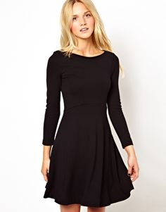 French Connection Skater Dress With long Sleeves, needs some bling
