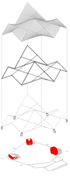 architecture exploded diagram _ The Church of St. Aloysius / Erdy McHenry Architecture