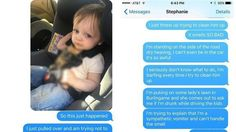 Puking toddler lands dad in hilarious situation -    A pukey toddler landed one father in an awful situation. Ben Patterson swapped cars with his wife on Thursday so that she could go out with friends. He was driving home with his kids when his son Declan had an unfortunate case of projectile vomiting. Patterson pulled over the car so he... http://tvseriesfullepisodes.com/index.php/2016/05/16/puking-toddler-lands-dad-in-hilarious-situation/