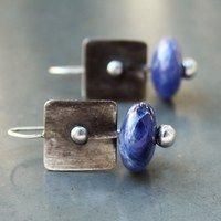 Zboží prodejce Modrý květ / Zboží | Fler.cz Cufflinks, Stud Earrings, Accessories, Jewelry, Jewlery, Jewerly, Stud Earring, Schmuck, Jewels