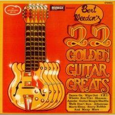 Bert Weedon's 22 Golden Guitar Greats from Warwick Records
