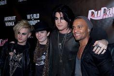 Adam Lambert na RuPauls Drag Race Party