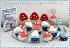 Family Movie Night _the Smurfs 2_ #shop_Theresa Huse 2013