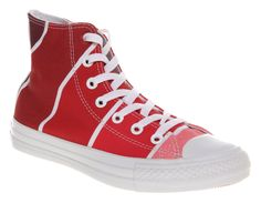 Converse Chuck Taylor All Star Hi Pantone Red Unisex Trainers Shoes