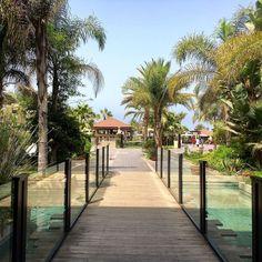 Beautiful gardens at the Riu Palace Tikida in Agadir Morocco