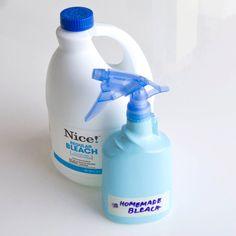 Homemade Bleach vs. Real Bleach   POPSUGAR Smart Living