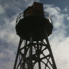 Old lighthouse Strijensas The Netherlands