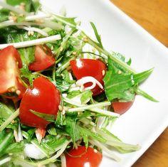 水菜の中華サラダ