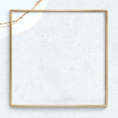 Gold frame psd gray background | free image by rawpixel.com / sasi